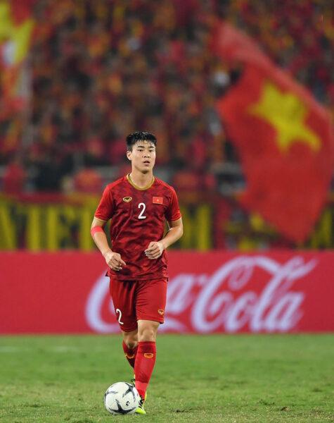 Hình ảnh Duy Mạnh ( cầu thủ bóng đá) thi đấu