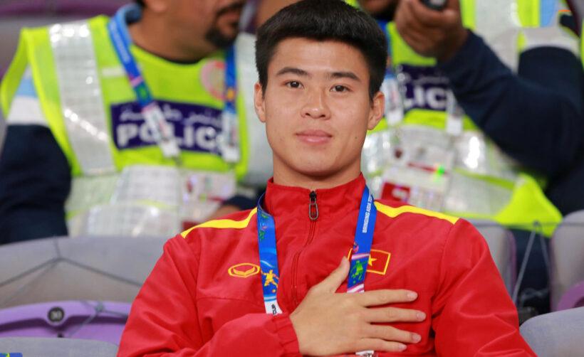 Hình ảnh Duy Mạnh ( cầu thủ bóng đá) tự hào dân tộc