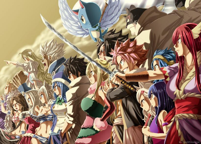 Hình ảnh Fairy Tail ấn tượng nhất