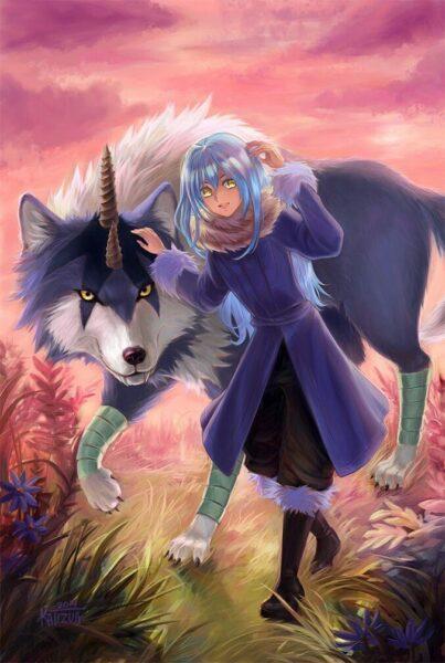 Hình ảnh, hình nền Rimuru và sói