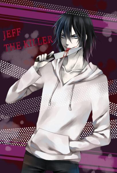 Hình ảnh Jeff the killer rùng rợn