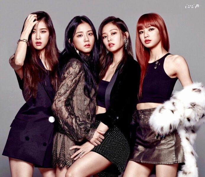 hình ảnh Jisoo BlackPink cùng nhóm