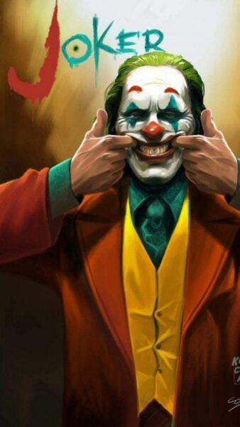 hình ảnh Joker cười
