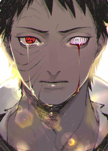 hình ảnh Obito buồn