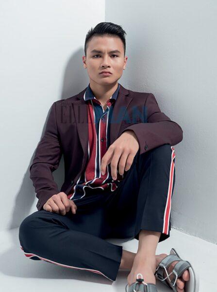 Hình ảnh Quang Hải fashion