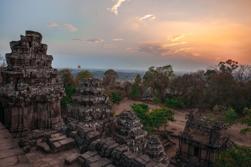 Hình ảnh Siem Reap cuối ngày