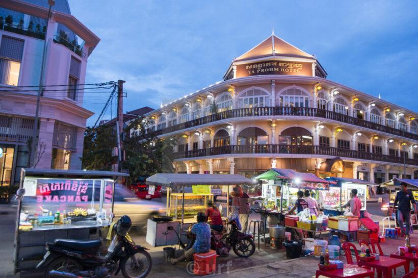 Hình ảnh Siem Reap đẹp với các hoạt động buôn bán