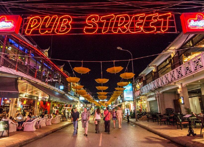 Hình ảnh thành phố Siem Reap về đêm đẹp lung linh