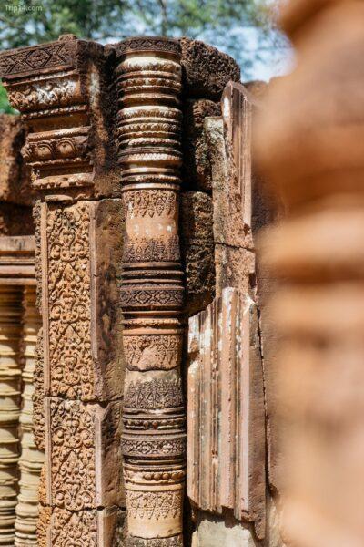 Vẻ đẹp của kiến trúc cổ tại Siem Reap