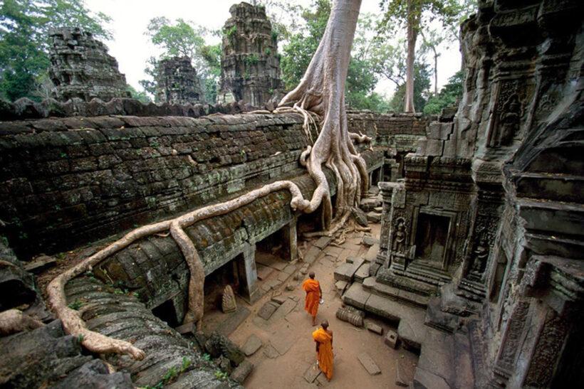 Vẻ đẹp huyền bí, ma mị trong các ngôi đền ở Siem Reap