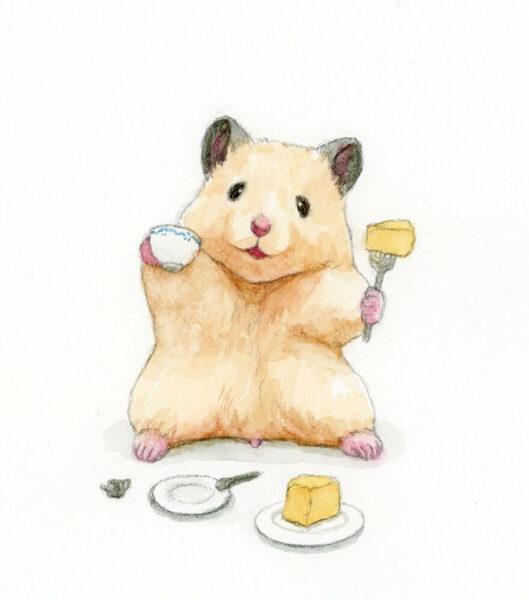 hình ảnh chuột Hamster dễ thương anime