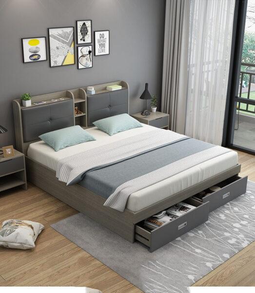 hình ảnh giường ngủ hiện đại, sang