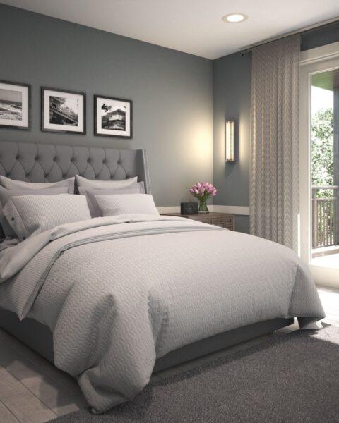 hình ảnh giường ngủ sang trọng