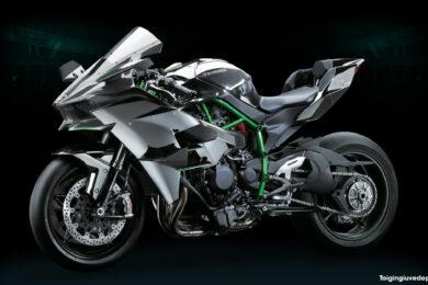 Hình ảnh Kawasaki Ninja H2R độ bắt mắt, thời thượng và thu hút nhất