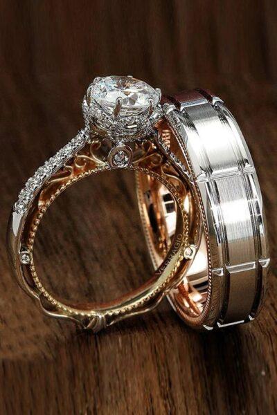 hình ảnh nhẫn cưới độc đáo