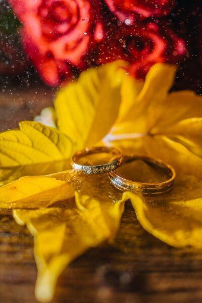 hình ảnh nhẫn cưới nghệ thuật