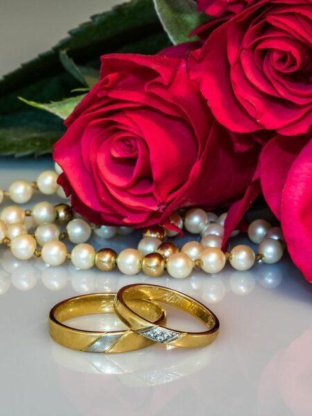 hình ảnh nhẫn cưới vàng đẹp