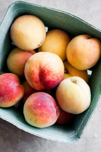 hình ảnh quả đào ăn quả