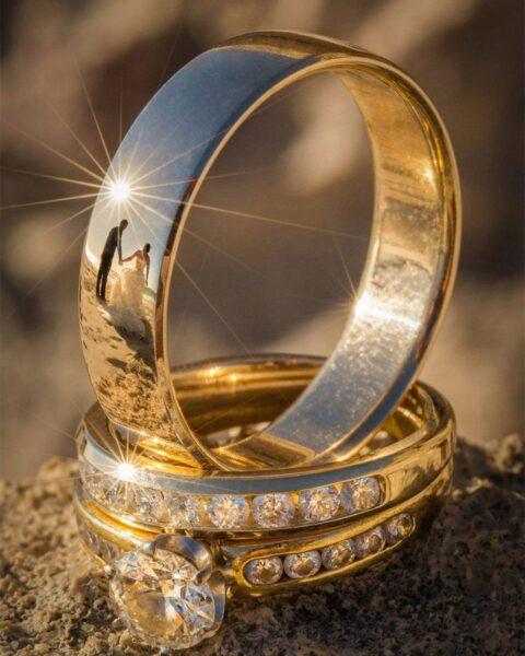 mẫu nhẫn cưới đẹp 2021